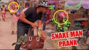 Zfancy Comedy – AFRICAN SNAKE MAN PRANK